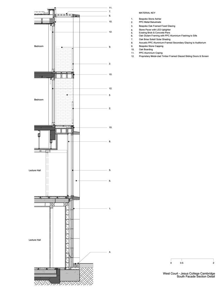 Wooden Sliding Door Section Detail Sliding Door Designs