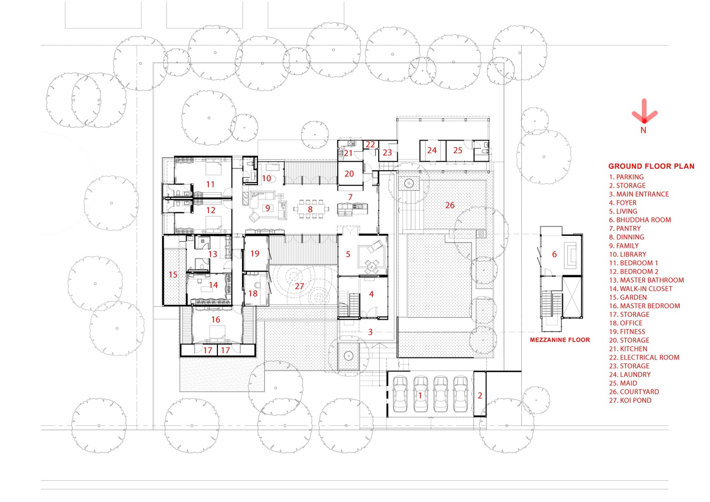 Gallery Of Ratchada 18 Residence Aomo 23 Legend Electrical Plan Residenceground Floor