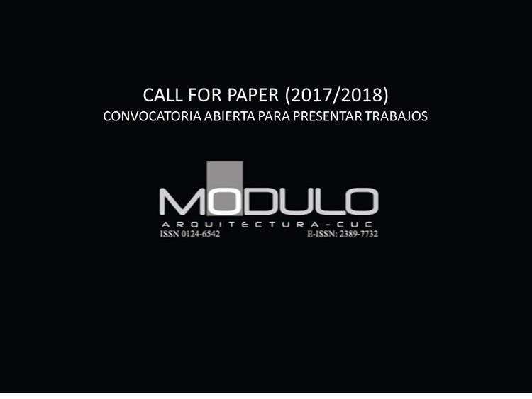 Llamado a postulaciones: Revista Módulo Arquitectura de la Universidad de la Costa, Revista Modulo Arquitectura CUC - Universidad de la Costa, Colombia. Image