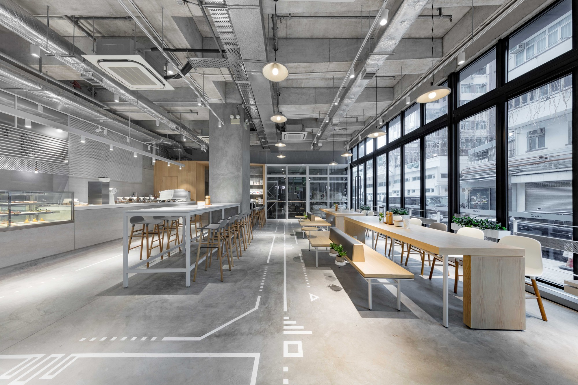 Noc Coffee Co Studio Adjective Archdaily