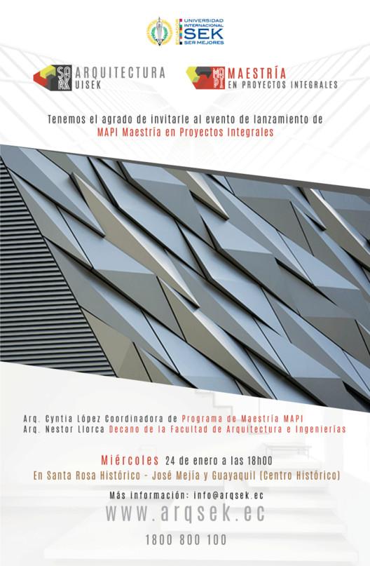 Maestría en proyectos integrales Quito Uisek, Updesign arte.ec