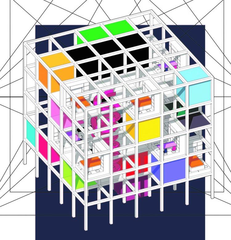 Concurso de estudantes propõe reimaginar a noção de lar, Cortesia de Ideasforward
