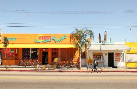 Watts Community Studio; Watts, South Los Angeles, CA / LA-Más. Image Courtesy of LA-Más