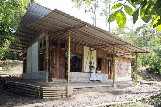Social Production of Housing. Exercise I; Tepetzintan, Sierra Nororiental de Puebla / Comunal: Taller de Arquitectura. Photography: Onnis Luque. Image © Comunal: Taller de Arquitectura