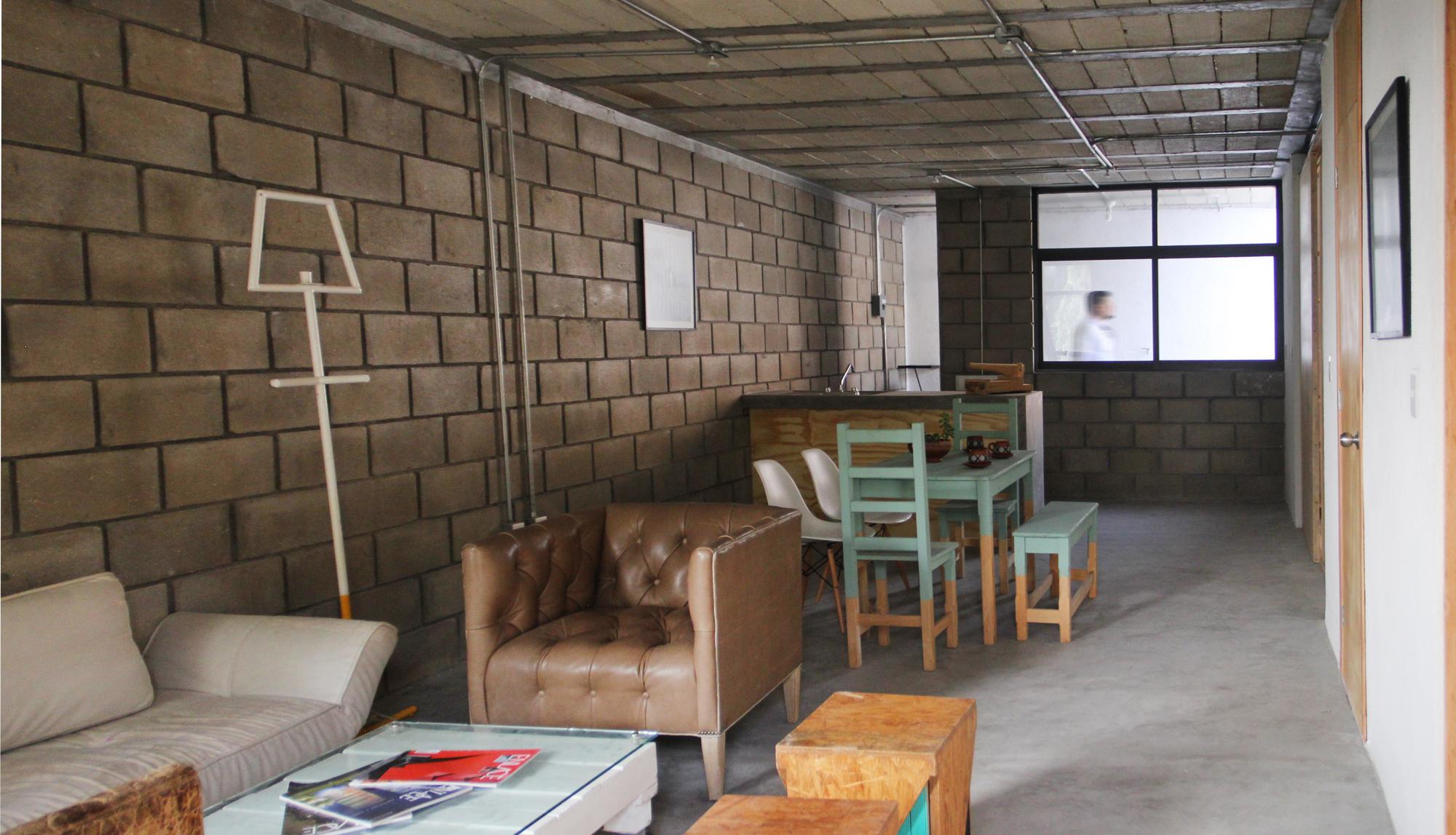 Galer a de departamentos el pino apaloosa estudio de for Estudio de arquitectura y diseno