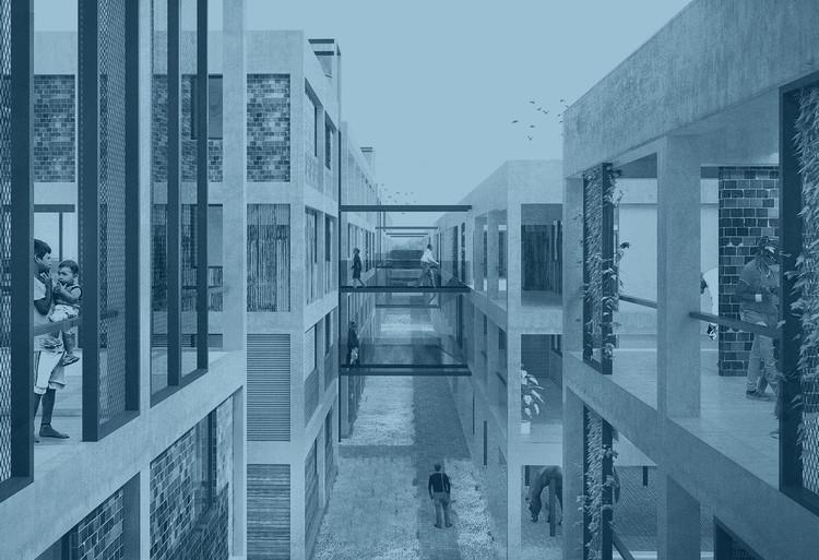 Los mejores 'proyectos final de carrera' en Argentina realizados en 2017 ¡Envía el tuyo!, Imagen adaptada del proyecto 'Manzana Verde', Joaquín Pérez Grosso, publicado en Los 15 mejores proyectos de fin de carrera diseñados por estudiantes de arquitectura en Argentina 2016. Image Cortesía de Joaquín Perez Grosso