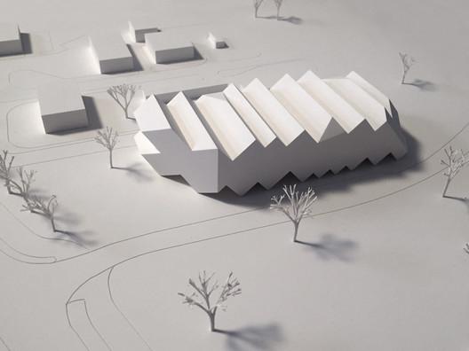 Model. Image Courtesy of J. Mayer H. Architects