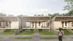 Arquitectos proponen 120 viviendas sociales incrementales y flexibles para Iquitos, Perú