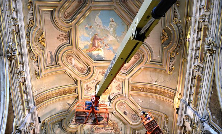 Conoce cómo se restauró la bóveda de la Catedral de Santiago , Cortesía de Grupo Praedio