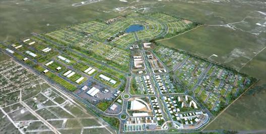 Aerial view of Smart City Laguna. Image by Engenharia E