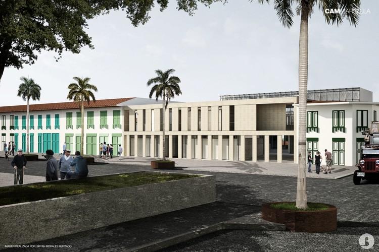 Conoce CAM Marsella, proyecto seleccionado en la Bienal Colombiana de Estudiantes de Arquitectura, Cortesía de Manuel Murgueitio + Edward Zapata