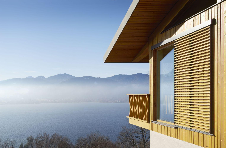 Gallery of Alpine Chalets / landau+kindelbacher Architekten ...