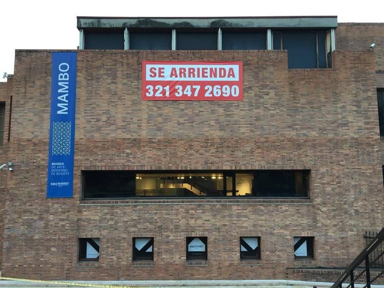 El Museo de Arte Moderno de Bogotá no está en arriendo, vía MAMBO - Museo de Arte Moderno de Bogotá / Facebook