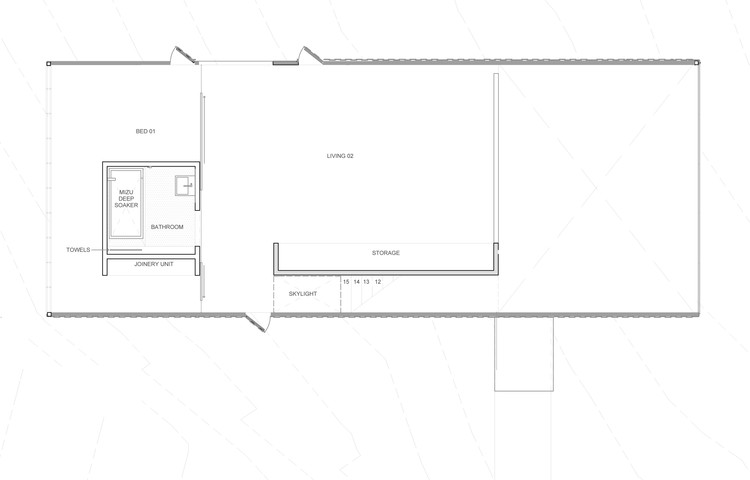 Little big house room11 architects archdaily for Little big house plans