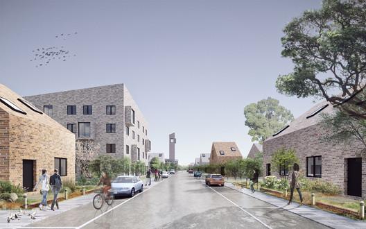 Akhmadullin Architects Entry. Image Courtesy of Strelka KB