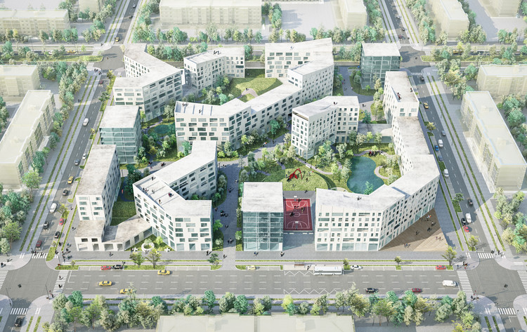20 Finalists Announced in International Housing Competition for Russia, Boustany / Suphasidh / Desfonds + A2OM. Image Courtesy of Strelka KB