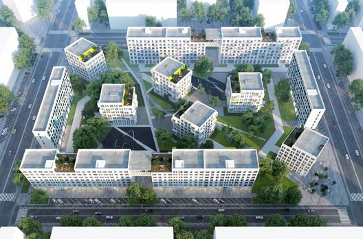 Ad Hoc Architecture Entry. Image Courtesy of Strelka KB