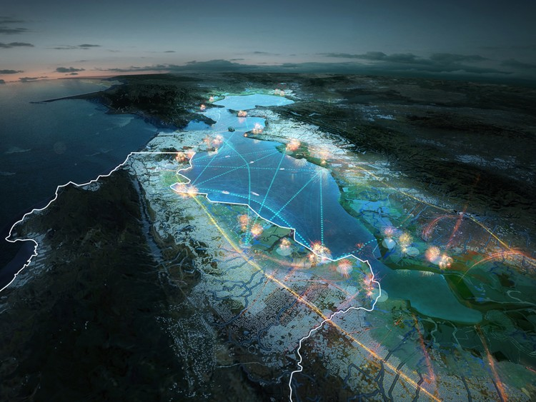 HASSELL + MVRDV's Proposal to Improve the Bay Area's Resilience in the Event of a Disaster, Courtesy of MVRDV and HASSELL+