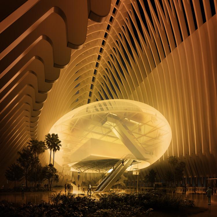 Esta fue la propuesta de MIAS Architects para el Caixaforum Valencia, Cortesía de Play Time Architectonic Image