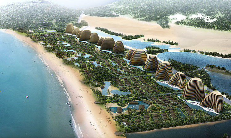 Chapman Taylor's Ecopark Masterplan Receives Vietnamese Government Approval, Resort Hotels / Image Courtesy of Chapman Taylor