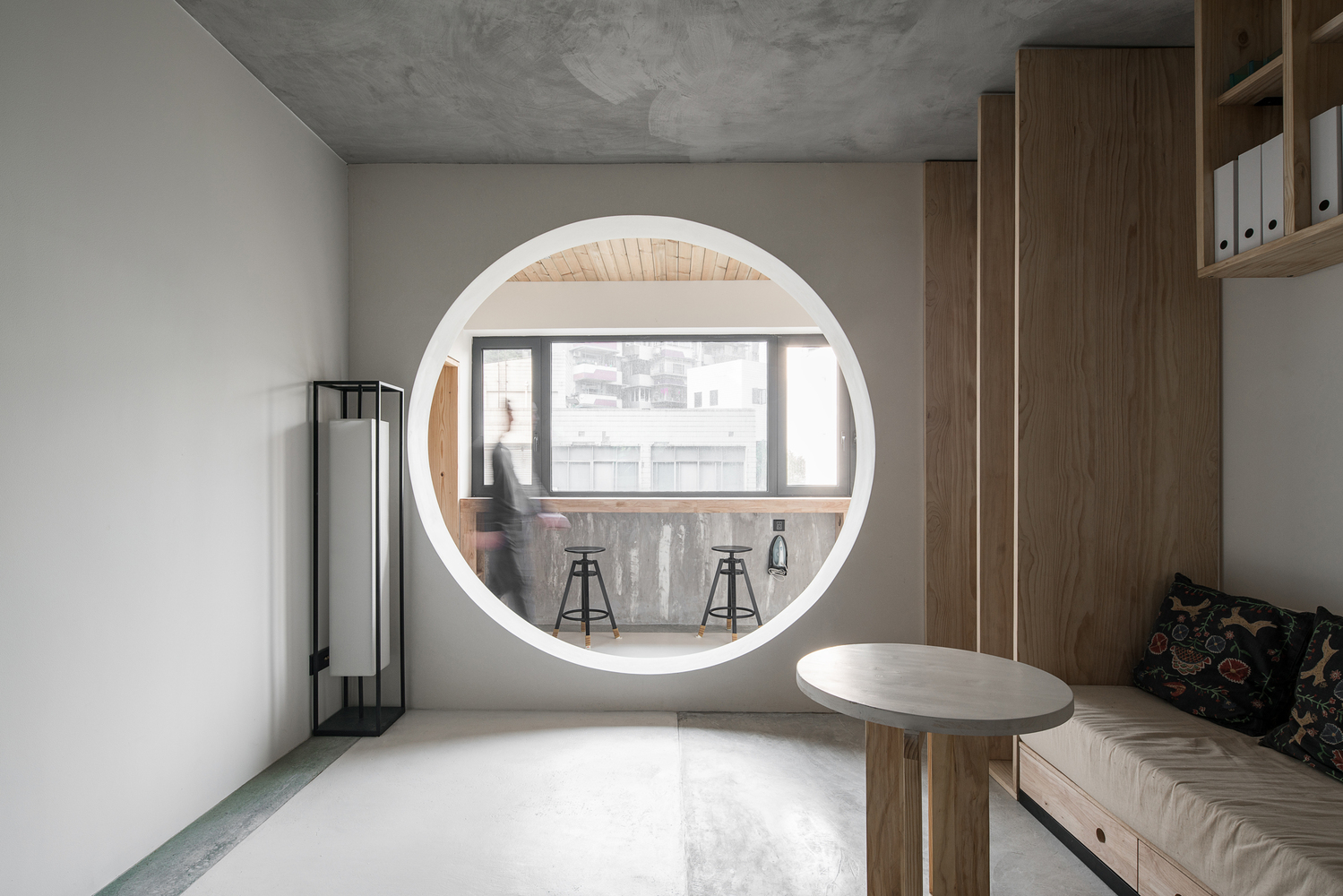 Apartment Renovation,Living Room. Image © Chuan Bai