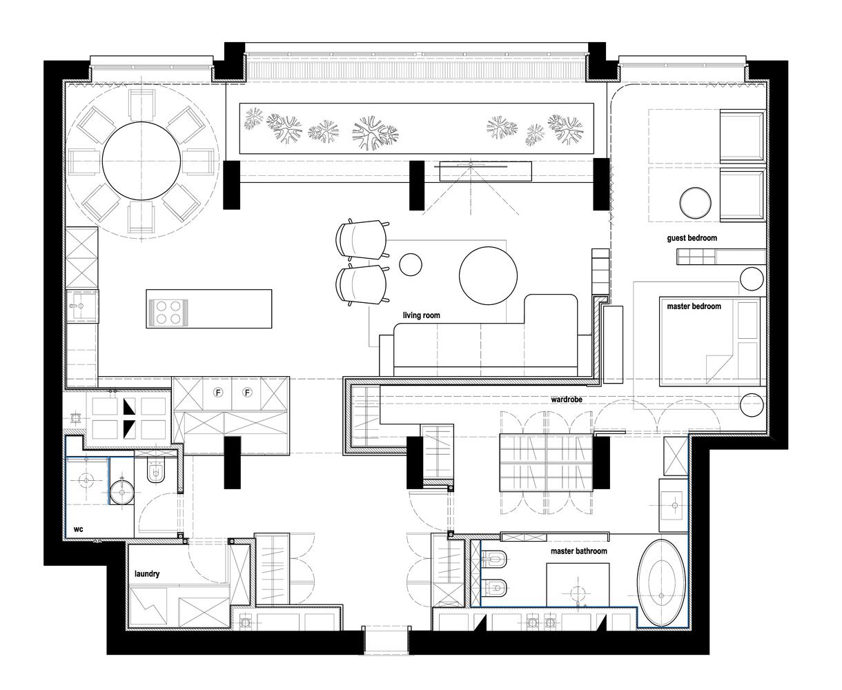 Good AFM Interior,Floor Plan