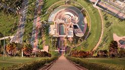 Camilo Monzón registra desde el cielo las grandes obras arquitectónicas de Bogotá