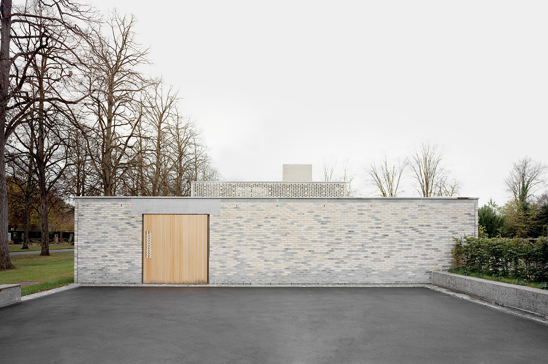 Gallery of crematory in basel architekturb ro garrigues maurer 12 - Architekturburo basel ...