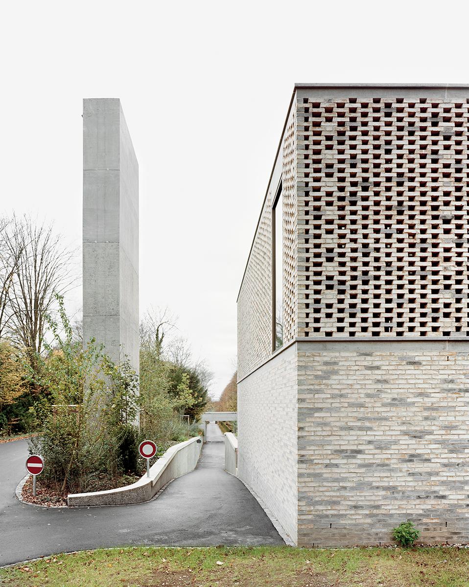 Gallery of crematory in basel architekturb ro garrigues maurer 9 - Architekturburo basel ...