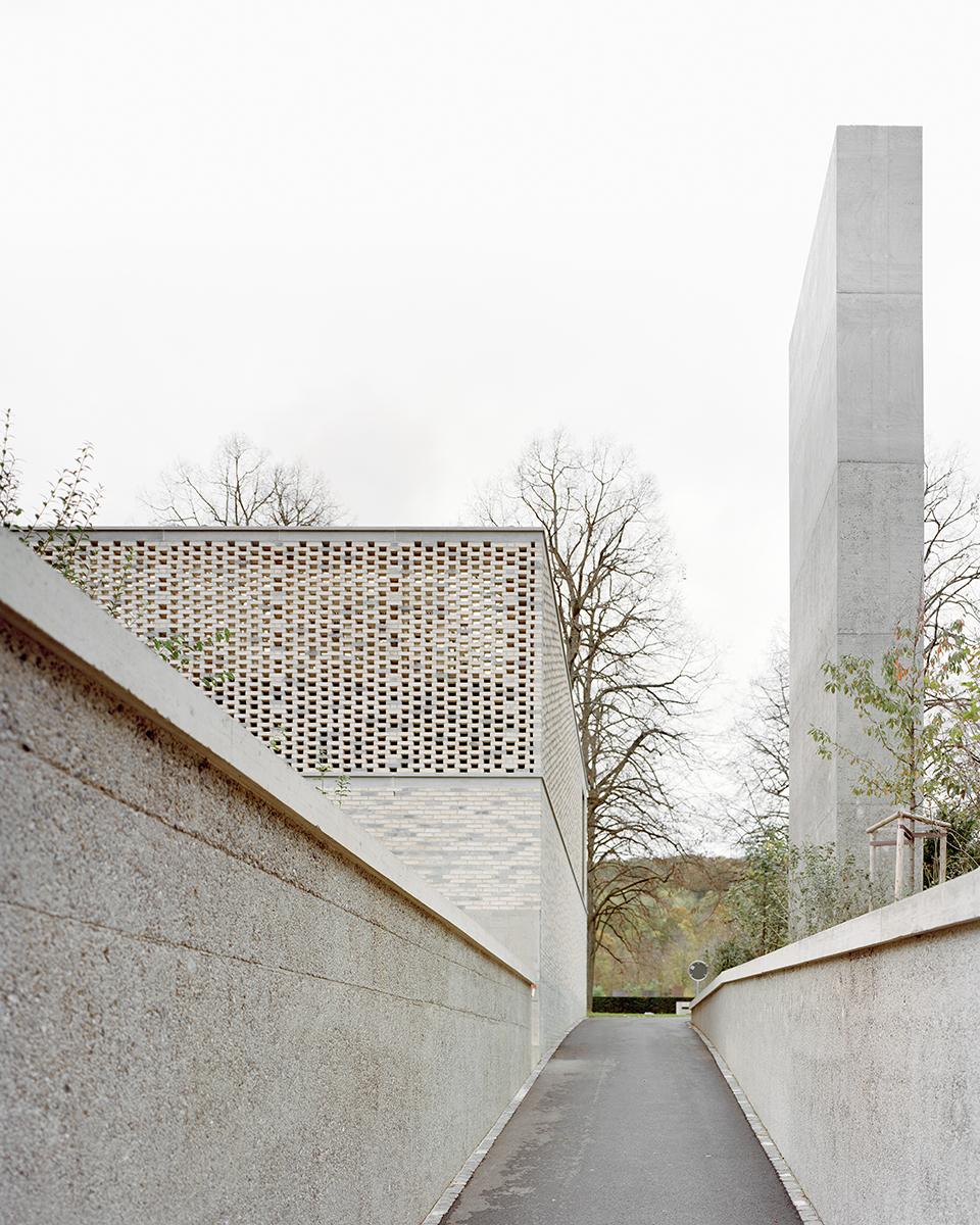 Gallery of crematory in basel architekturb ro garrigues maurer 2 - Architekturburo basel ...