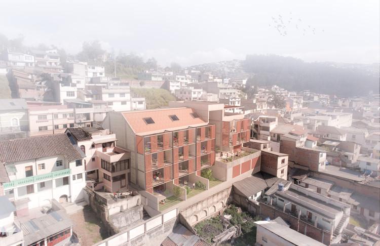 Jaramillo van Sluys Arquitectura + Urbanismo gana concurso para diseñar proyecto residencial en Quito, Cortesía de Jaramillo van Sluys Arquitectura + Urbanismo