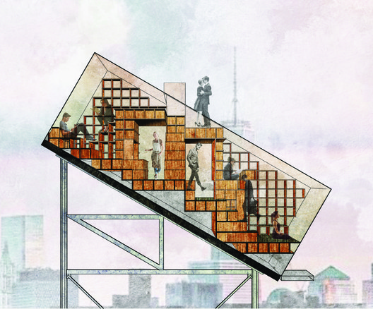 Honorable Mention: Project ATN by Clarence Zichen Qian. Image Courtesy of Ryterna modul