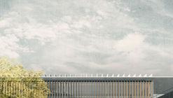 Jaime Bendersky Arquitectos + GVAA, segundo lugar en Campus Educativo de la Academia de Guerra del Ejército de Chile