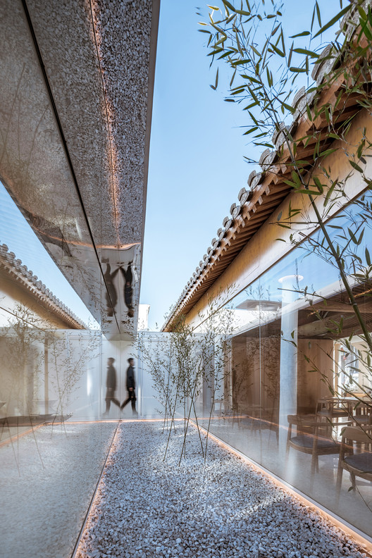 Second Courtyard. Image © CreatAR Images