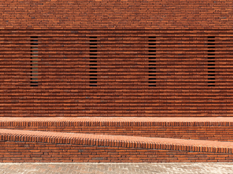 Pavilion Brick Factory Vogelensangh / Bedaux de Brouwer  Architects, Courtesy of Bedaux de Brouwer Architects