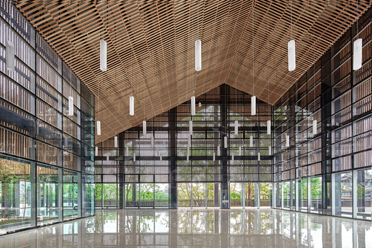 Meiyi Square Visitor Center Interior . Image © ARCH-EXIST