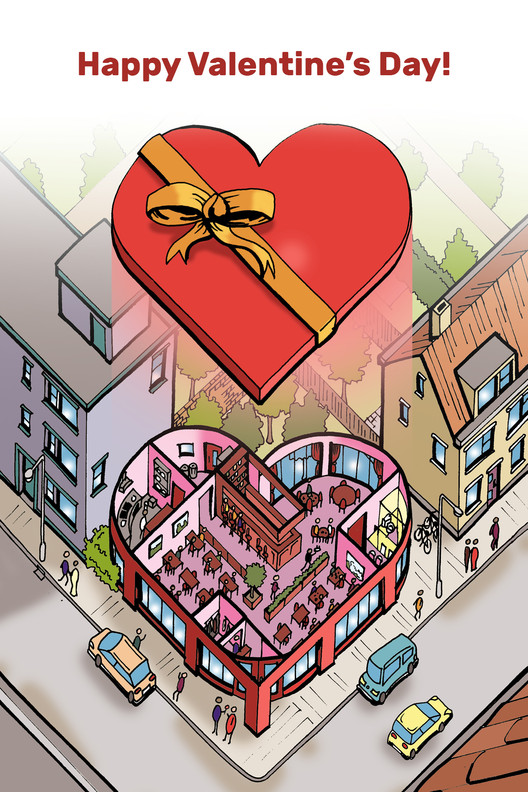 75 Valentines for Architects and (Architecture) Lovers
