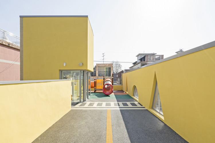 Jaramteo Kindergarten / KHY architects, © Hwang Hyo Chel
