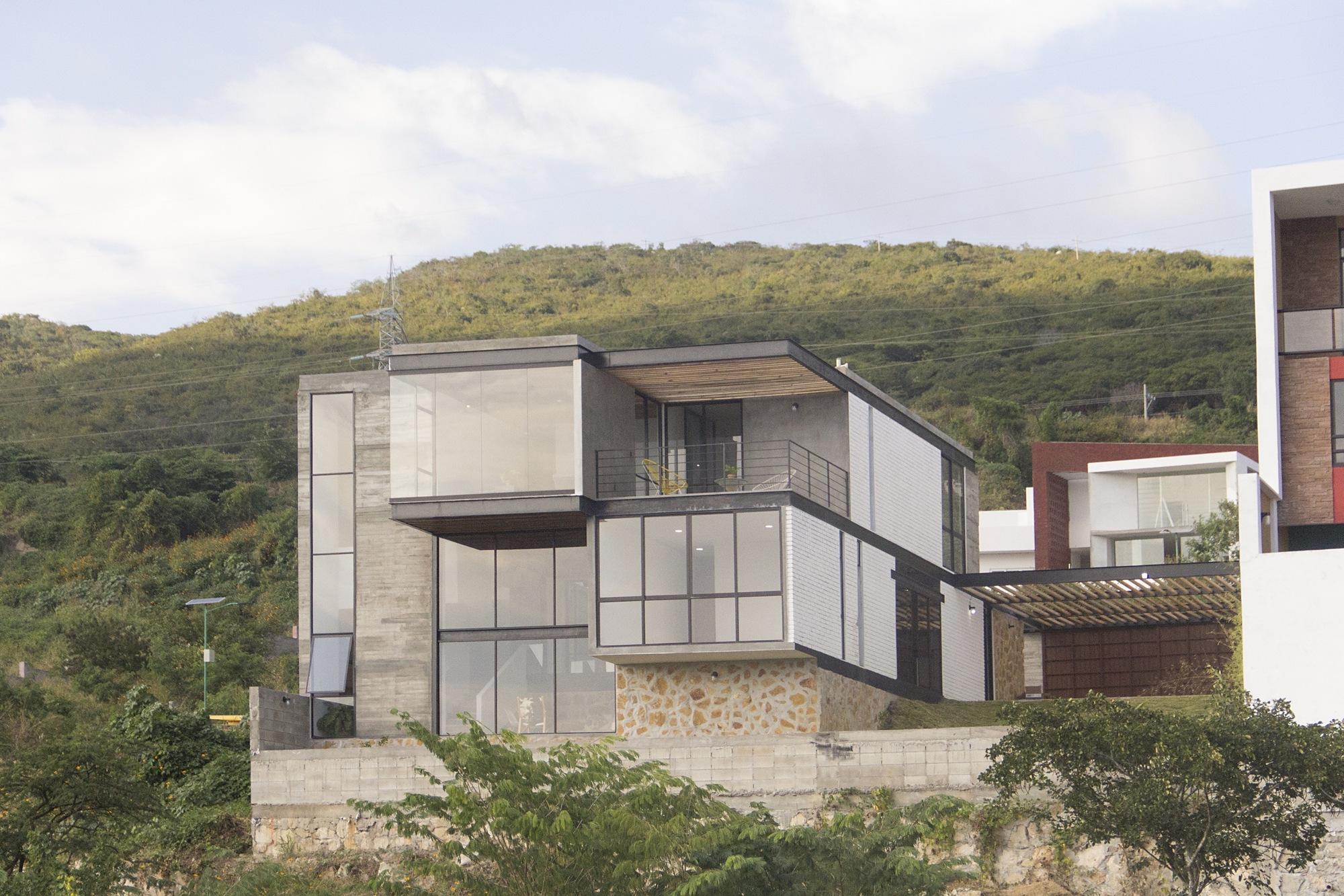 Galeria de resid ncia escalonada apaloosa estudio de - Arquitectura de diseno ...