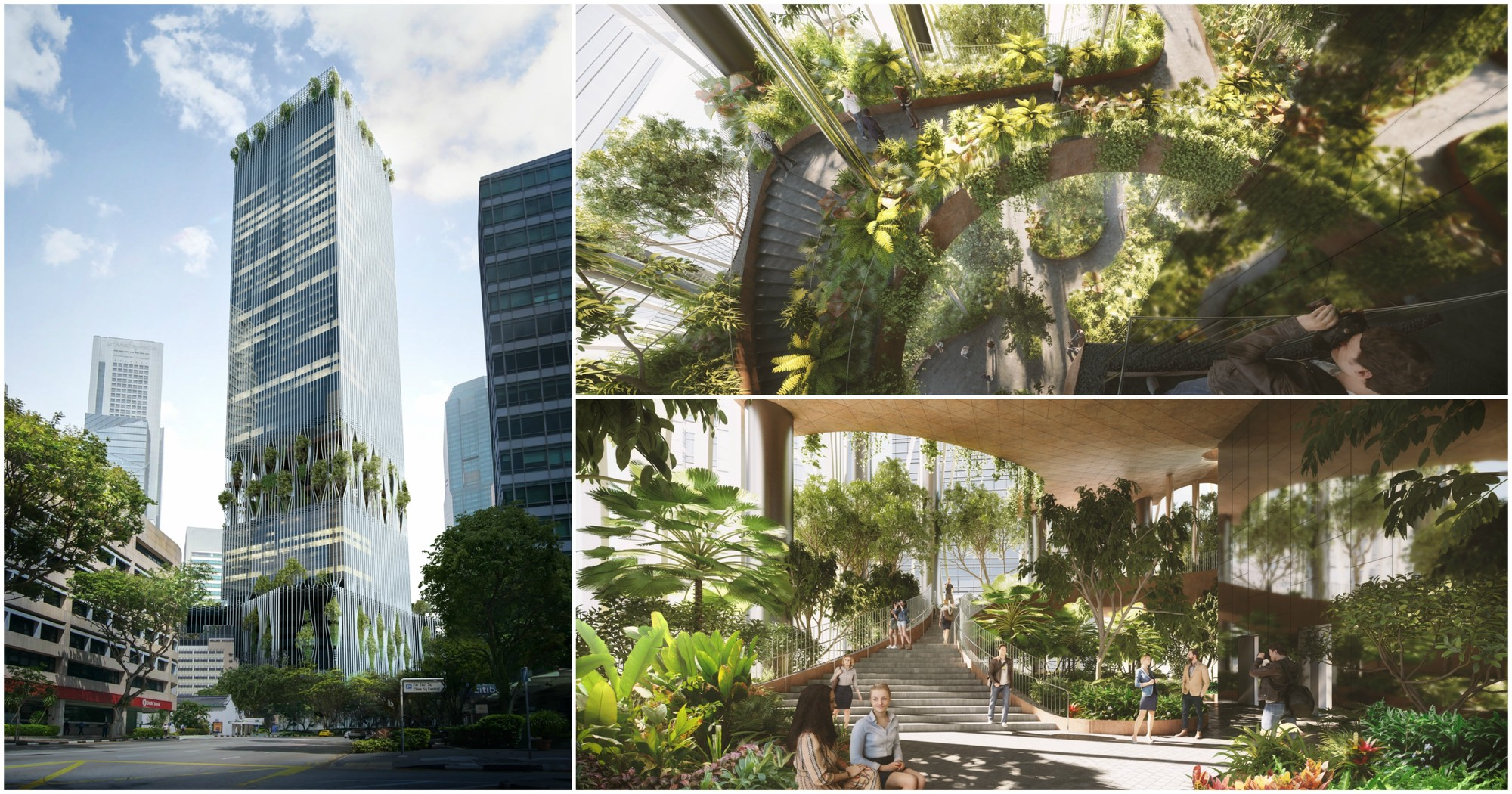 Big and carlo ratti associati reveal design for one of for Tallest hotel in singapore
