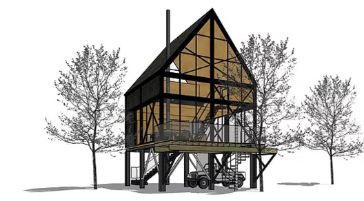 The Case For A Smaller House: Talking Clients Out of The Big House They Want to Build, Courtesy of Henry Louis Miller