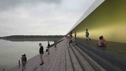 Proposed Bridge in Sweden Will Turn a River Into a Public Amphitheater