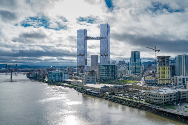 New Renderings Show Off Plans For What Could Become Portland's Future Tallest Building , Courtesy of William Kaven Architecture