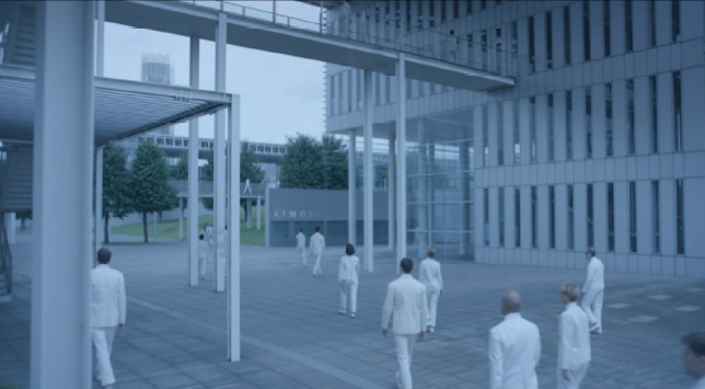 "Cinema e Arquitetura: ""Equals"", a arquitetura da impessoalidade, via screenshot do filme"