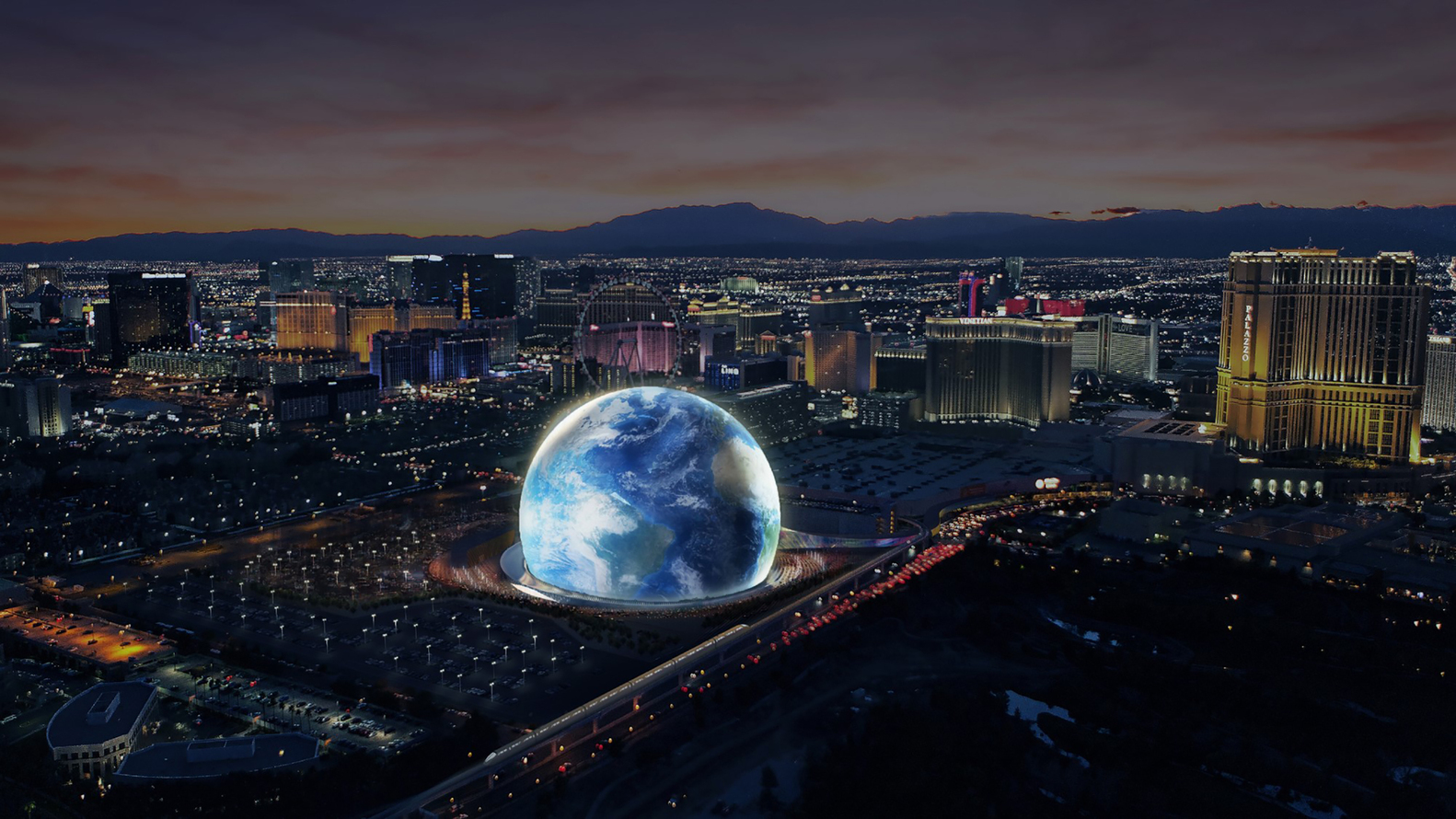 Madison Square Garden Unveils Plans For Spherical Event Venues In London  And Las Vegas,©