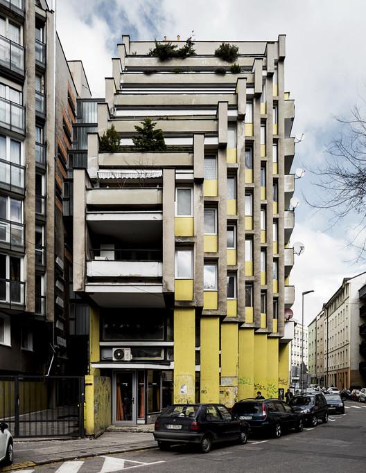 Residential building, by architects Štefan Svetko and Julián Hauskrecht, 1968-1974. Bratislava, Slovakia. Image © Stefano Perego