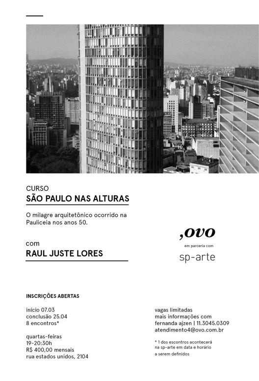 "Curso ""Sao Paulo nas alturas"" , SAO PAULO NAS ALTURAS"