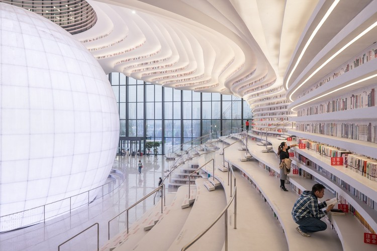 Beyond the Viral Images: Inside MVRDV's Tianjin Binhai Library with #donotsettle, © Ossip van Duivenbode