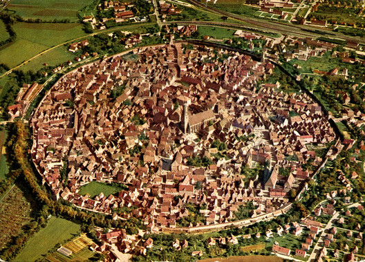 This Medieval Town is Built Inside a Crater and Composed of Millions of Diamonds