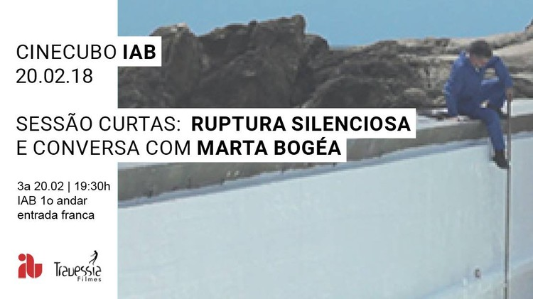 "Cinecubo IAB: Ruptura Silenciosa, Frame do filme ""Sizígia"" de Luis Urbano"